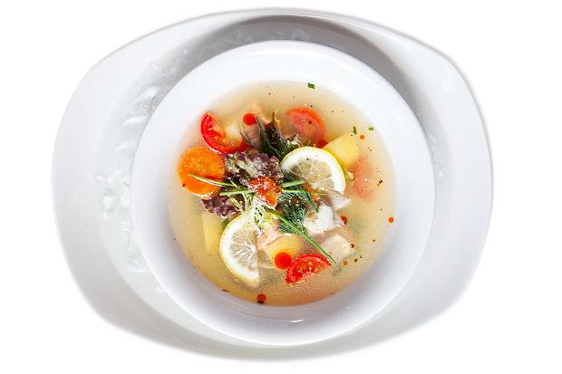 Сезонное меню: Холодные супы в ресторанах Петербурга. Изображение № 16.