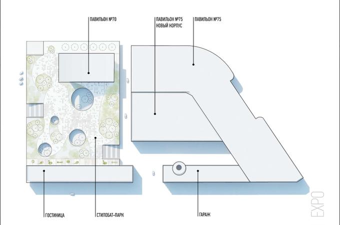 Проект «Экспо» ВДНХ разработают шесть архбюро Москвы (обновлено). Изображение № 3.
