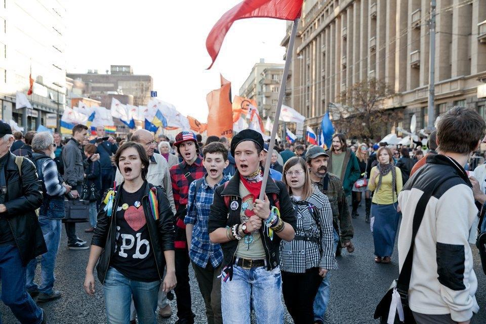 Участники и лозунги «Марша мира». Изображение № 29.