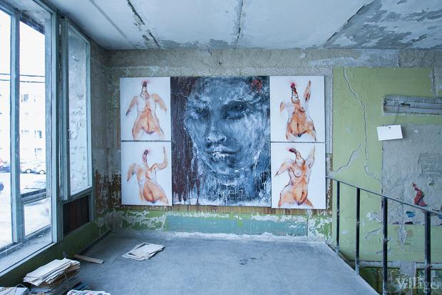 Проект «Безлад», который курирует LabCombinat, разместили в помещении бывшей заводской столовой. Изображение № 16.