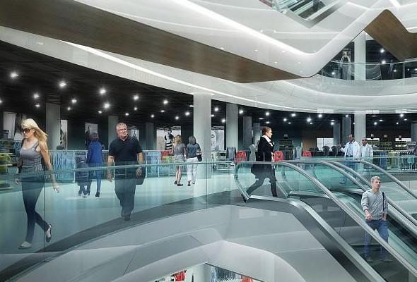 Киевский ЦУМ реконструируют авторы Ferrari World в Абу-Даби. Зображення № 3.