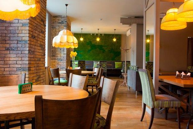 Фуд-корт LavkaLavkа, кафе «Зелёная собака», званые ужины вSaxon+Parole. Изображение № 3.
