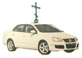 Изображение 6. 6 необычных московских такси: православное, женское, социальное, детское, трезвое и зоотакси.. Изображение № 1.