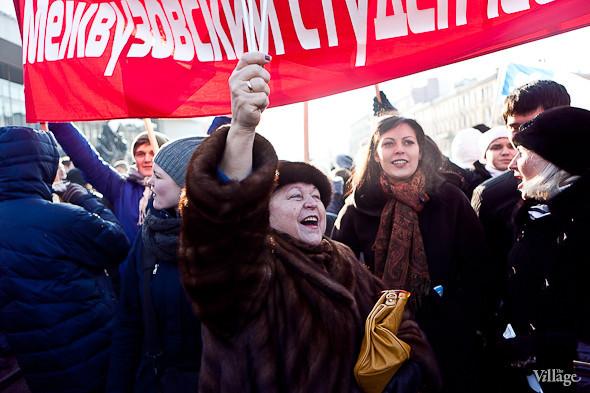 Фоторепортаж: Митинг в поддержку Путина в Петербурге. Изображение № 42.