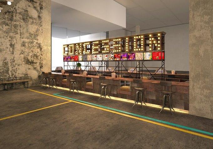 В обновленном кинотеатре «Пик» организуют фуд-корт ибудут показывать трансляции опер. Изображение № 3.