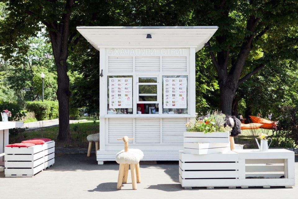 Еда в парке Горького: 33кафе, ресторана икиоска. Изображение № 34.