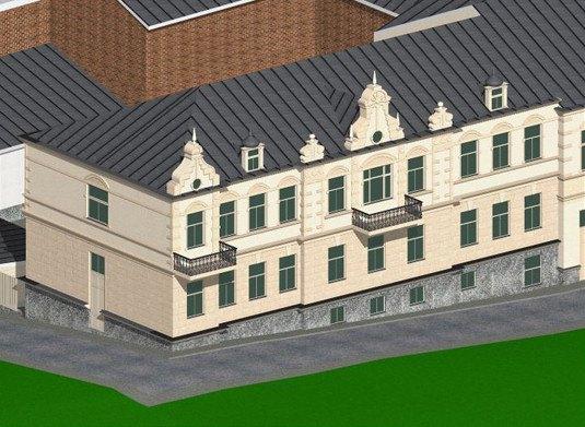 Визуализация квартала. Изображение № 5.