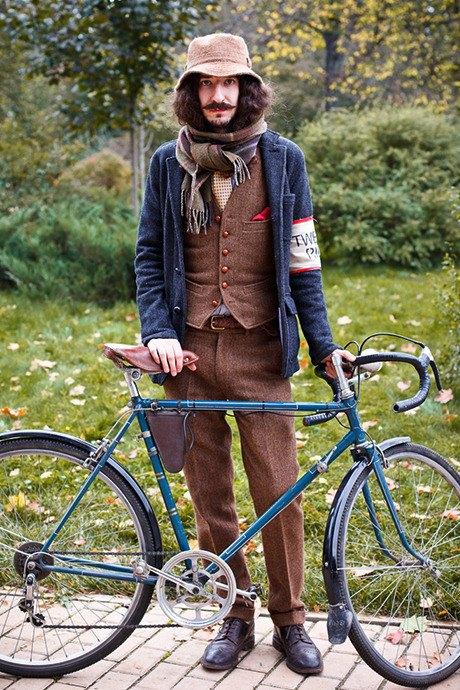 С твидом на город: Участники велопробега Tweed Ride о ретро-вещах. Изображение № 111.