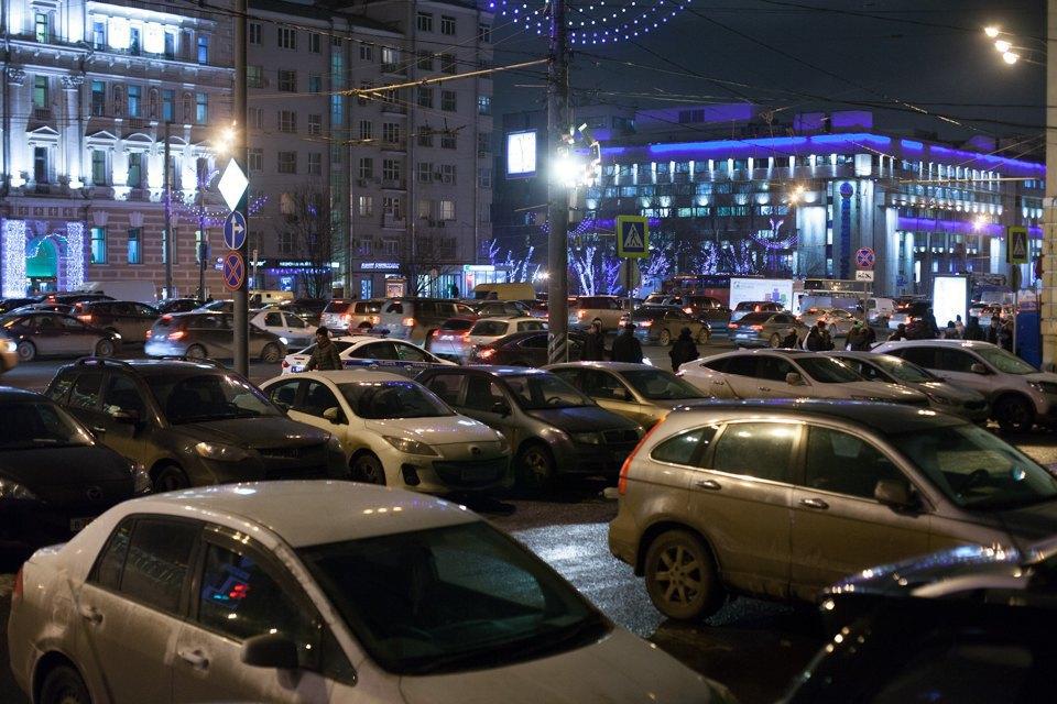 Зубовская площадь до введения платной парковки. Изображение № 9.