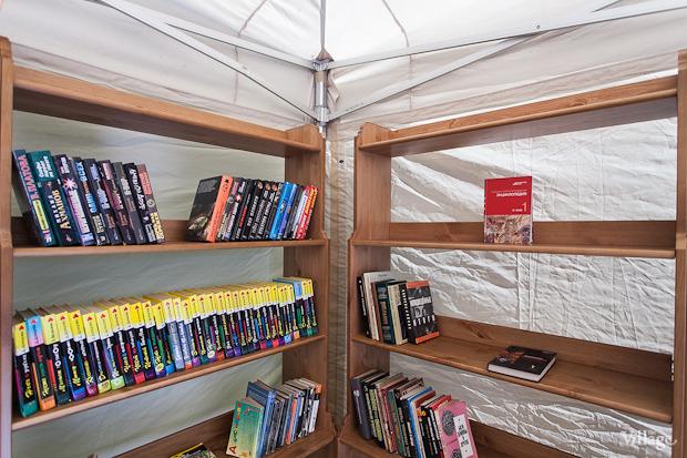 В ЦПКиО открылась летняя библиотека на воздухе. Изображение № 3.