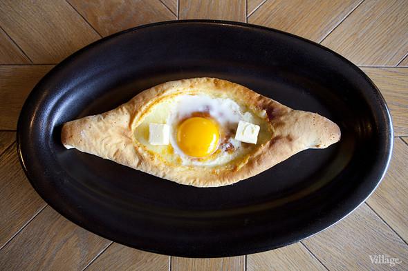 Аджарский хачапури с деревенским яйцом — 290 рублей. Изображение № 35.