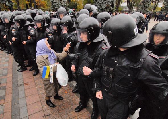 Copwatch: Действия милиции на акции «Вперёд!» возле Верховной рады. Изображение № 17.