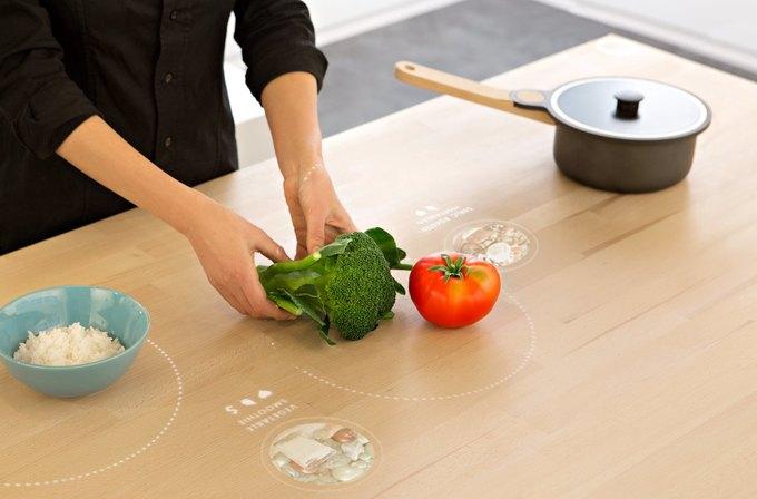 Стол-кулинар от IKEA, костюмы для роботов Pepper и биометрические тату. Изображение № 3.