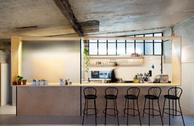Владельцы «Едим стоя» открыли кафе Dizengof99. Изображение № 1.