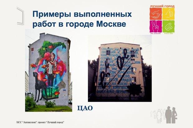 Страницы из презентации граффити-проекта компании НСС«Антикупон». Изображение № 10.
