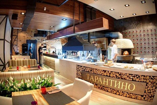 На Русановке открылся ресторан Tarantino Italian&Grill. Изображение № 1.