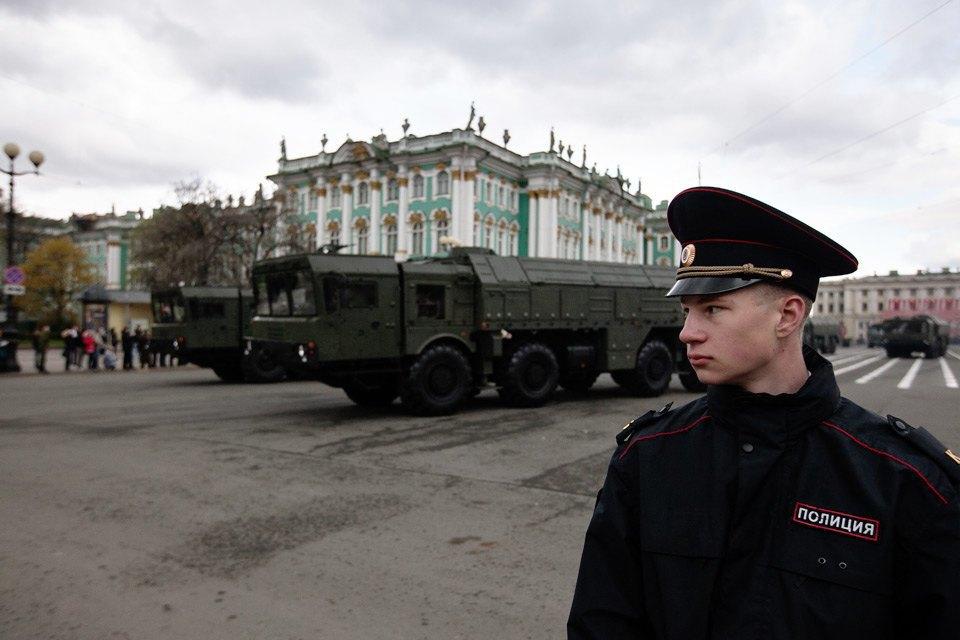 Репетиция парада Победы на Дворцовой площади. Изображение № 11.