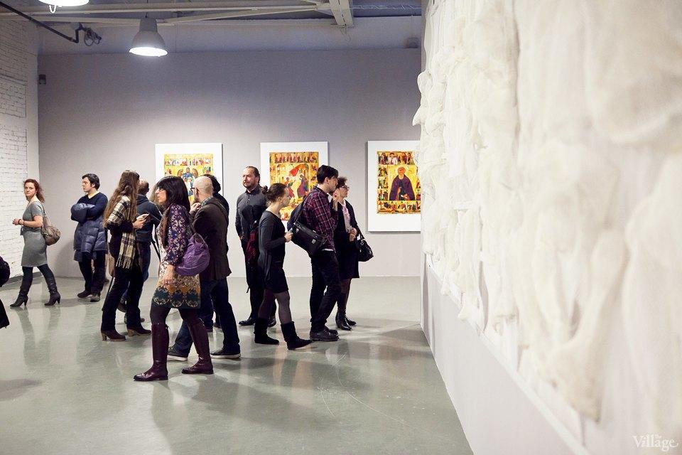 Люди в городе: Первые посетители выставки Icons в Петербурге. Изображение № 11.
