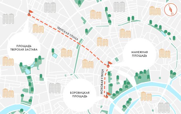 Очередной «Марш миллионов» захотели провести по Тверской. Изображение № 1.