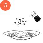 Рецепты шефов: Летний салат с яйцом-пашот. Изображение №8.