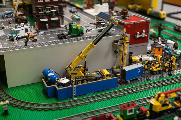 Фото дня: Как выглядит музей Lego в Петербурге. Изображение № 6.