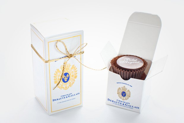 На 1-й Тверской-Ямской открылся шоколадный бутик Debauve & Gallais. Изображение № 9.