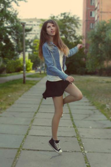 Юбка С Кедами