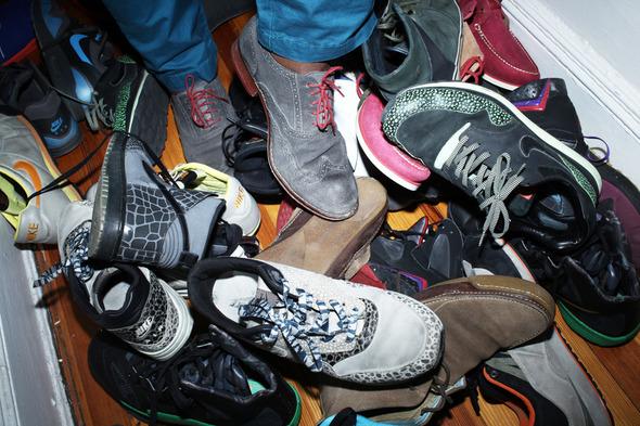 Сникерхед из Нью-Йорка: Крис Грейвс о своей коллекции кроссовок — Aurora Fashion Week на Wonderzine