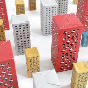 Конструкор-матрёшка Blokoshka для ценителей спальных районов