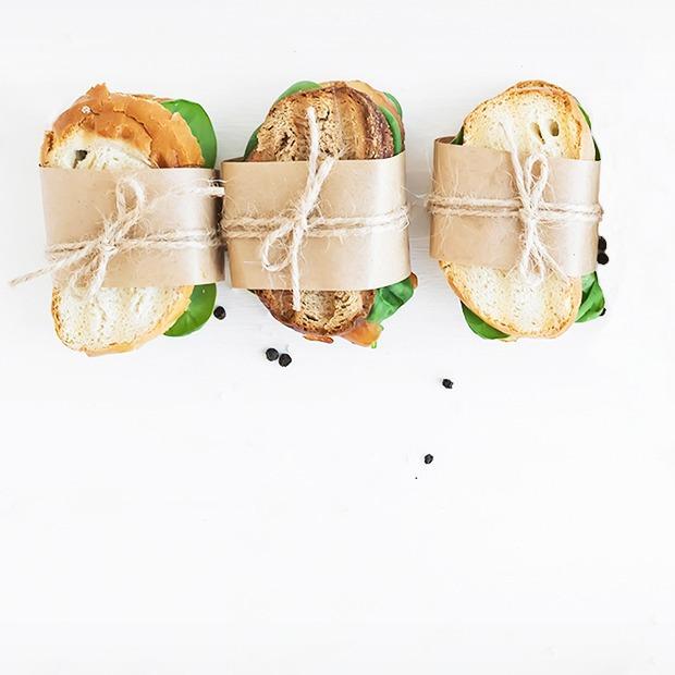 10 рецептов сэндвичей  с собой — Еда на Wonderzine