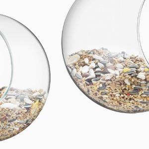 Прозрачная кормушка для птиц — Вишлист на Wonderzine