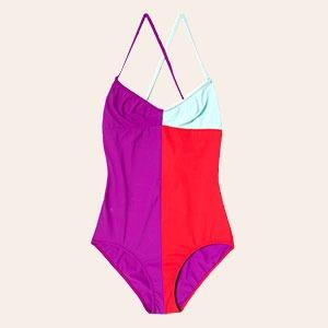 Что носить летом:  10 лаконичных слитных купальников  — Вишлист на Wonderzine