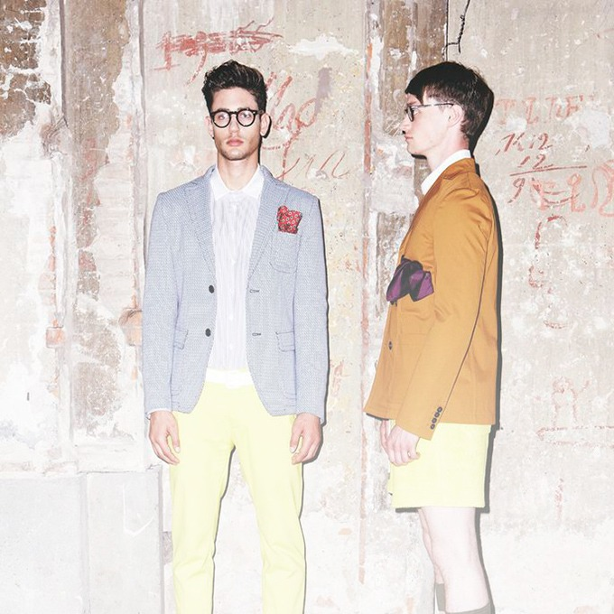 Андреа Помпилио, дизайнер мужской одежды — Новая марка на Wonderzine
