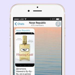 На кого подписаться: Телеграм-канал о парфюмерии Nose Republic — Красота на Wonderzine