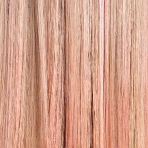 Розовое золото: Новый хит  в окрашивании волос,  нейл-арте и макияже — Тенденция на Wonderzine