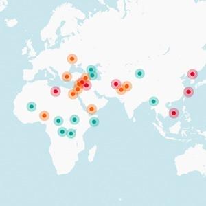 В закладки: Актуальная карта войн во всём мире — Жизнь на Wonderzine