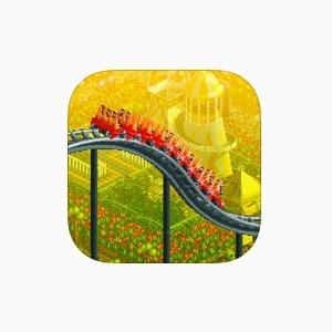 90-е на смартфоне: Культовая игра Roller Coaster Tycoon — Вишлист на Wonderzine
