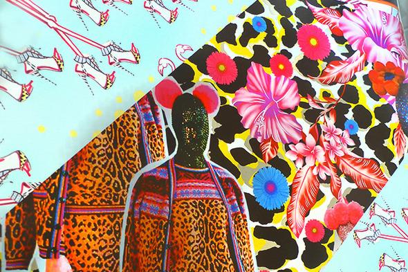 Дневник стилиста: Тесс Йопп о 3D-граффити, резиновых платьях и надувном динозавре