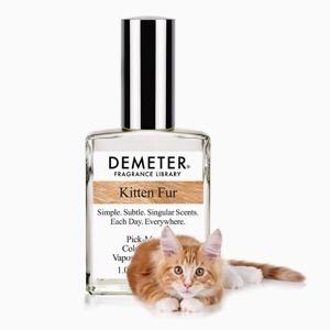 Аромат Demeter Kitten Fur с запахом шёрстки котёнка — Вишлист на Wonderzine