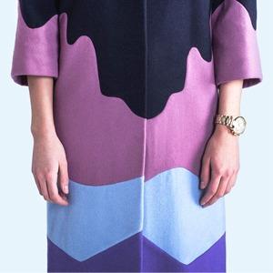 outlaw moscow: Яркие пальто, вдохновленные картинами Рериха — Новая марка на Wonderzine