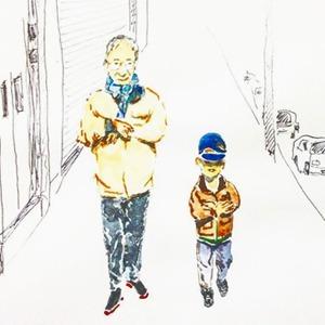 На кого подписаться: Дедушка, который рисует для своих внуков — Жизнь на Wonderzine