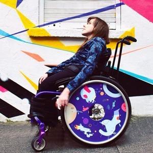 На кого подписаться: Диски для кресел-колясок Izzy Wheels — Жизнь на Wonderzine