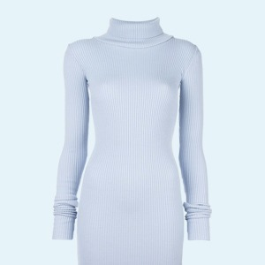 Трикотажные платья в рубчик: От простых до роскошных — Стиль на Wonderzine