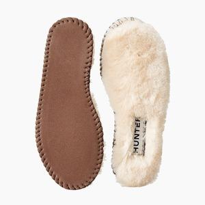Теплые и пушистые стельки для обуви Hunter