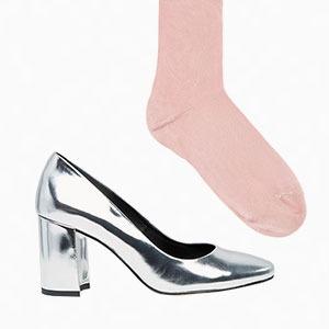 Комбо: Туфли с носками — Стиль на Wonderzine