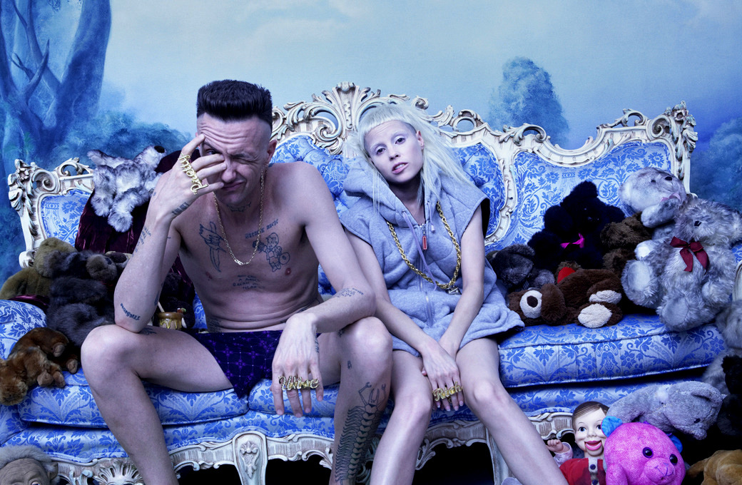День с Die Antwoord: Сугробы, водка и Davaj-Davaj — Интервью на Wonderzine