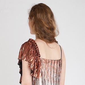 MUUS Lena Maksimova: Базовые наряды  с воланами и оборками — Новая марка на Wonderzine