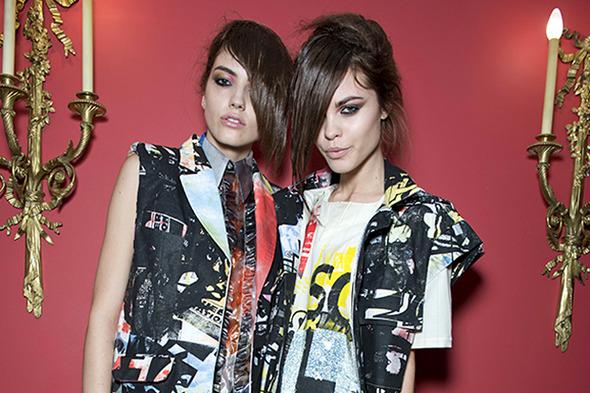 Неделя моды в Лондоне: Бэкстейджи — London Fashion Week  на Wonderzine