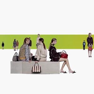 Real Fantasies:  Видеолукбук Prada,  созданный бюро AMO — Eye Candy на Wonderzine