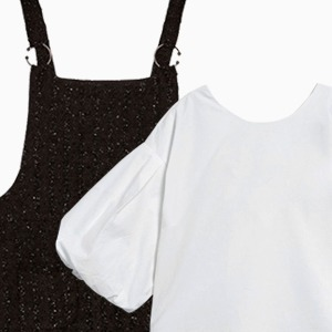 Комбо: Сарафан с блузкой — Стиль на Wonderzine